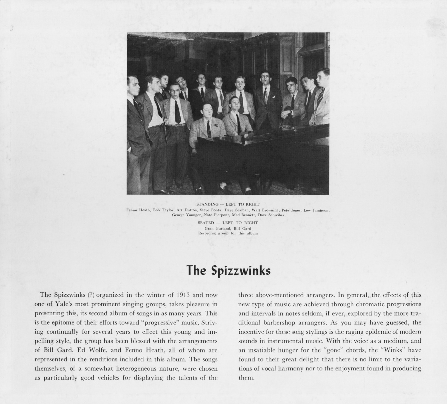 1950 Spizzwinks - inside cover
