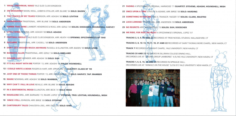 1997 Eine Kleine Winkmusik - booklet 3 and 4