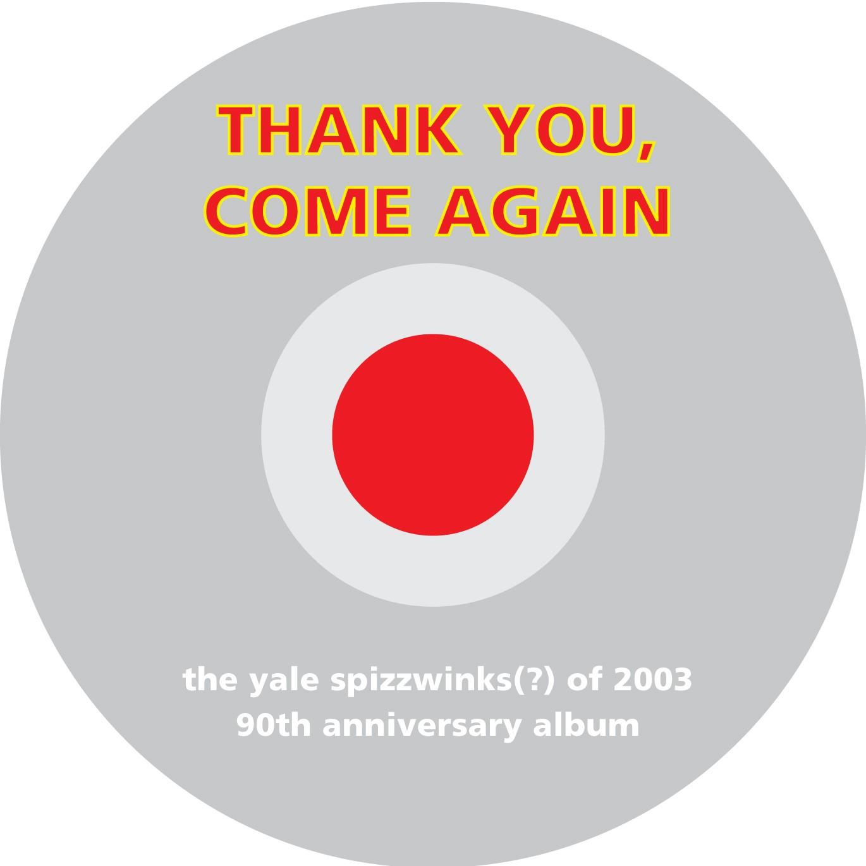 2003 Thank You, Come Again - disc