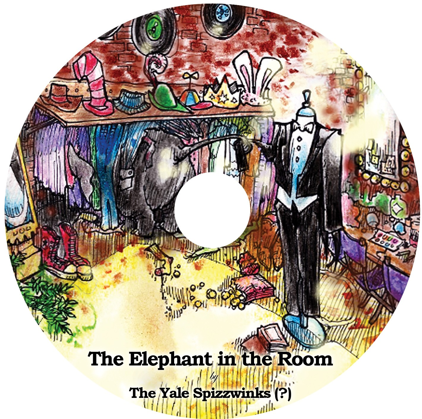 2011 The Elephant in the Room - disc